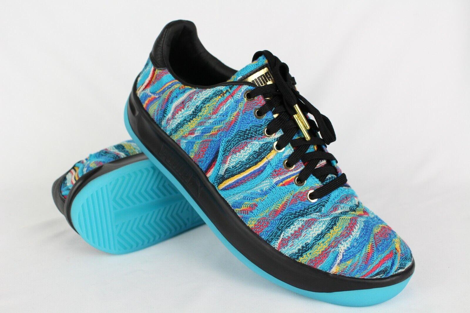 New Puma Men's x COOGI California Sneakers Size 10 bluee Atoll   Black 367973-01