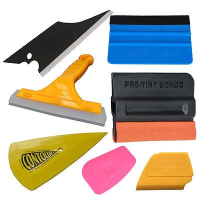 14PCS PRO 3M Vinyl Squeegee Kit Car Window Film Tint Application Tools Magnet