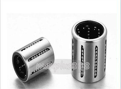 US Stock 2pcs KH1630PP CNC Linear Motion Sealed Bushing Ball Bearing 16x24x30mm