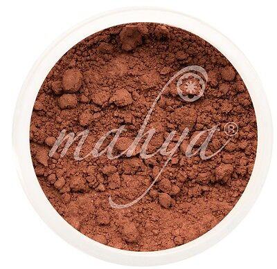 NEW! MAHYA XL 10g VEGAN NATURAL MINERAL FOUNDATION, DARK AFRICAN COCOA!