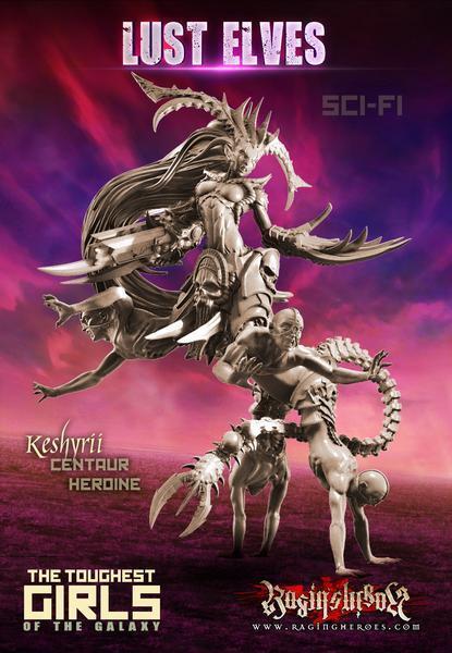 online al mejor precio Raging héroes keshyrii, Centauro Centauro Centauro heroína (Ciencia Ficción) lujuria Elfos-Demonios  bienvenido a elegir