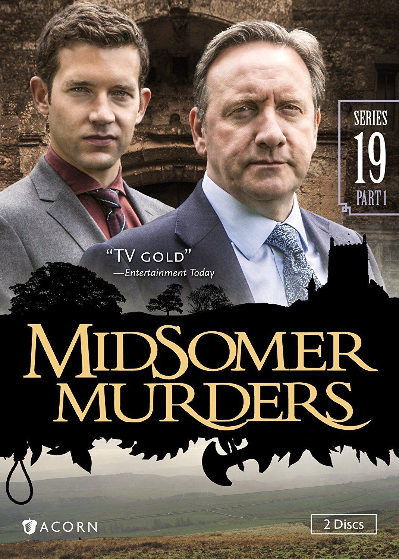 midsomer murders: series 19 (dvd, 2017, 2-disc set) | ebay