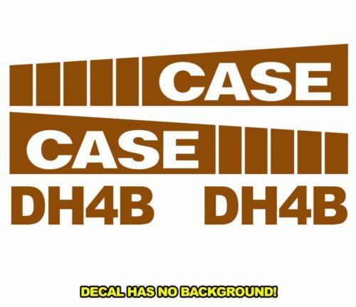 Case DH4B Trencher Set Vinyl Decal Sticker Aftermarket