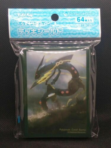 Mega Rayquaza Japan Pokemon Center 64 Card Sleeve Ship from USA