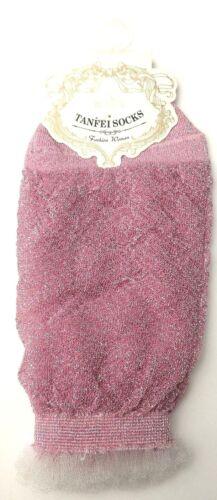 Femmes Mode Paillettes Printemps été Chaussettes Argent Rose Noir Achetez 1 obtenez 1 GRATUIT