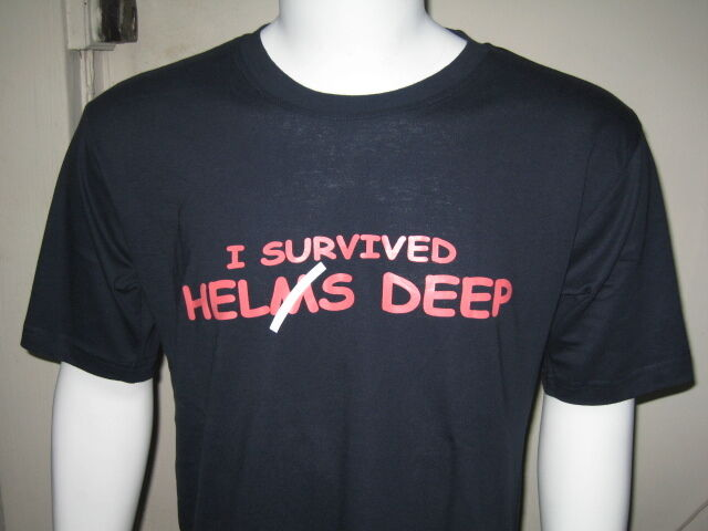 LOTR Lord of the Rings I survived Helm's Deep T-Shirt