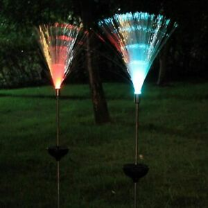 Solar-Powered-Outdoor-Garden-Fiber-Optic-Lights-Yard-Decoration-Path-Lamp-Lawn