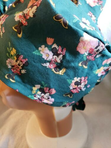 Details about  /MINNIE MOUSE HANDMADE SURGICAL SCRUB CAP
