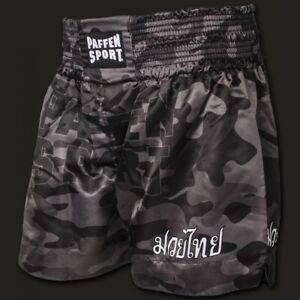 Thai-Star-Thaihose-Camouflage-Paffen-Sport-Gr-S-XL-Muay-Thai-Kickboxen-MMA