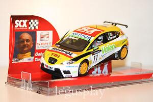 Slot-SCX-Scalextric-63540-Seat-Leon-WTCC-034-Seat-Sport-034-G-Tarquini