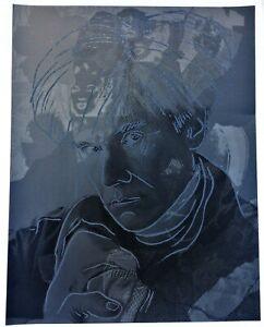 Hans Jürgen Kuhl Andy Warhol Marilyn Monroe 90x70 Siebdruck ea handsigniert