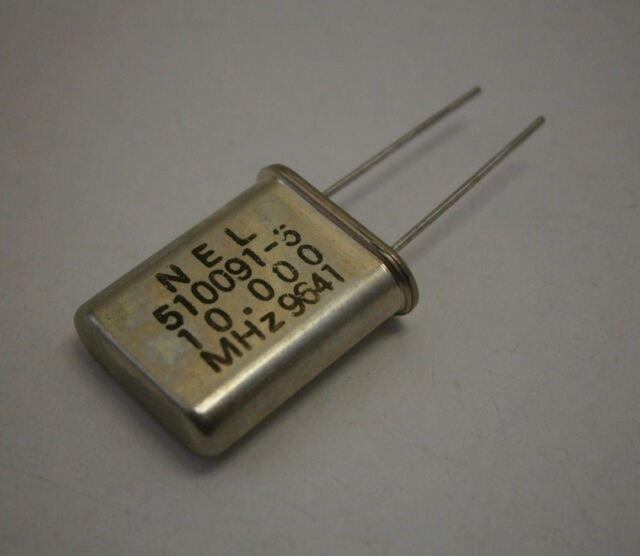 3RD OVERTONE CRYSTAL CLOCK OSCILLATORS 10x CTS MP-100 10.000MHz FUNDAMENTAL