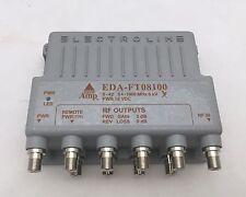 Electroline EDA-FT08100 8-port RF/CATV Cable Distribution  Amplifier & Return