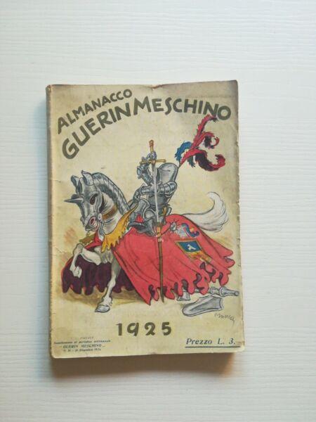 (satira - Umorismo) Almanacco Guerin Meschino 1925 Acquisto Speciale