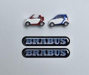 Smart-450-451-452-453-Brab-3D-Aufkleber-Domed-Stickers-75x15-Fuer-den-Koerper-2x