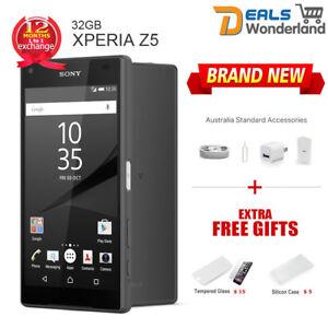 Unlocked-Sony-Xperia-Z5-E6653-4G-LTE-Smartphone-Black-32GB-Factory-NewSealed-Box