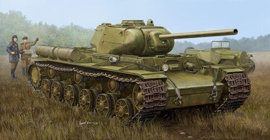 Sowjetische kv-1s   85 schwere panzer 1 rohrstabilisierungseinheit trompeter