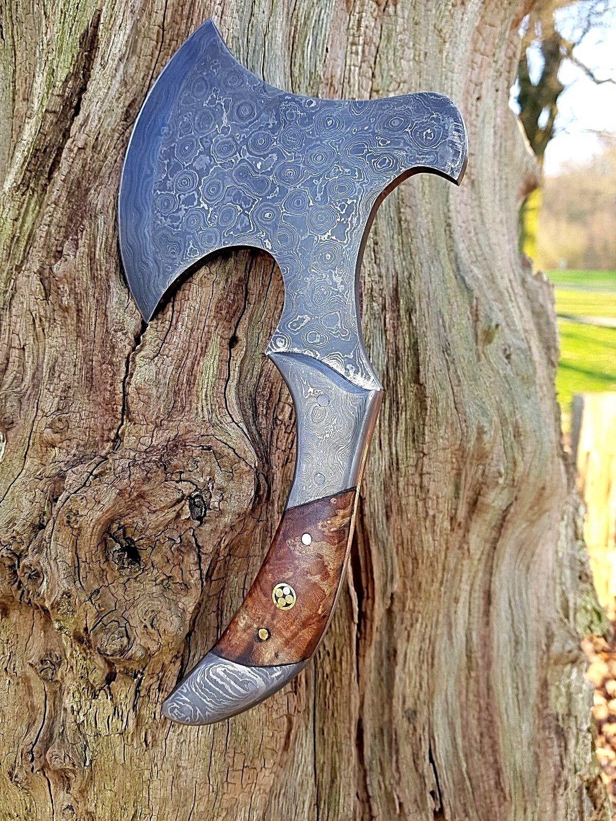 BULLSON DAMASKUS AXT BEIL JAGDMESSER BOWIE KNIFE BUSCHMESSER MACHETE MACETE AXT