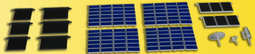 fotovoltaico #neu in OVP # condotti Kibri 38602 traccia Decorazione h0-Set Solare
