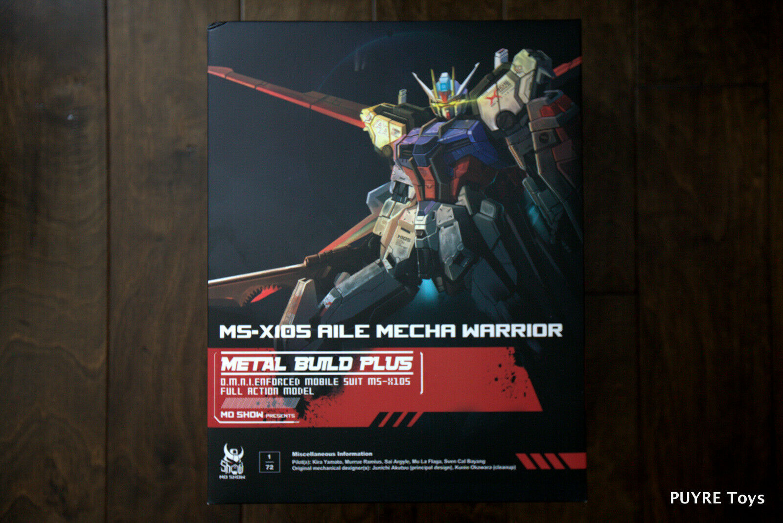 NEW Mo Show Metal Build Plus AILE MECHA WARRIOR Strike Gundam 1 72 MISB US