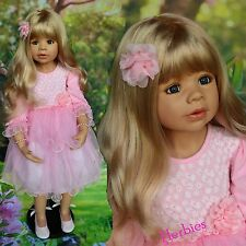 """Masterpiece Dolls Coco by Monika Levenig, 39"""" Blonde with Blue Eyes IN STOCK"""