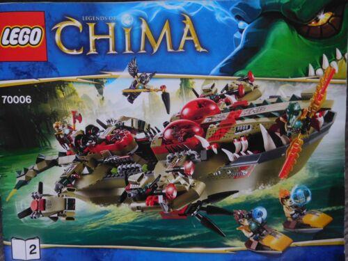 1 von 1 - LEGO Legends of Chima Craggers Croc-Boot Zentrale (70006)