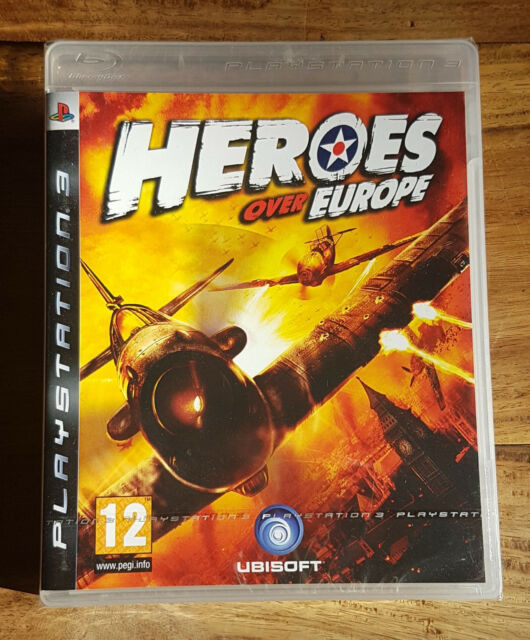 HEROES OVER EUROPE Jeu PS3 Playstation 3 Neuf Sous Blister VF