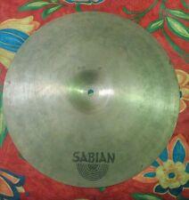 "Sabian Crash Cymbal 16"" 41cm. Vintage ""Thin Crash"""