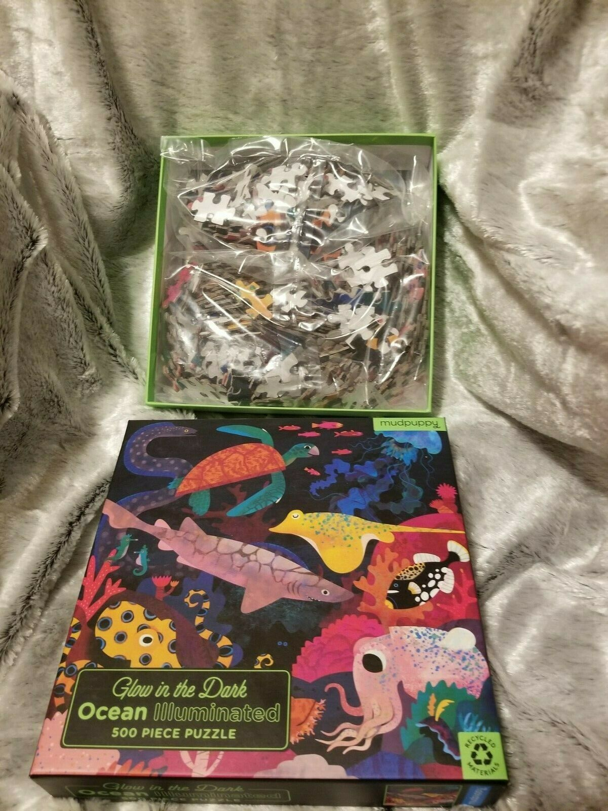 Mudpuppy for sale online Space Glow in The Dark Puzzle 500pcs