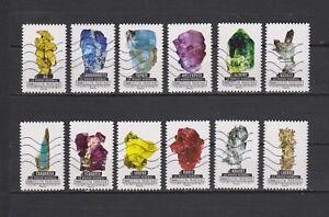 Serie-Los-minerales-del-mundo-de-Francia-sellos-adhesivos-2016