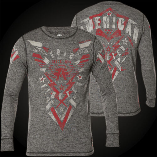 American Fighter by Affliction Thermal Westminster Grey