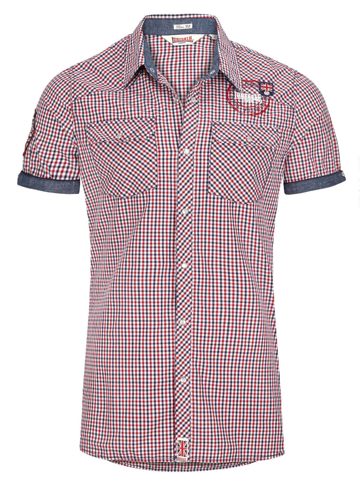 Lonsdale kurzarm Hemd Reigate     | Verbraucher zuerst