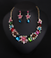 Women-Fashion-Crystal-Necklace-Choker-Bib-Statement-Pendant-Chain-Chunky-Jewelry thumbnail 111