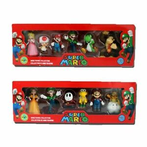 6pcs-Super-Mario-Bros-4-Series-Game-PVC-Action-Figure-Doll-Toy-Cake-Topper-Gift