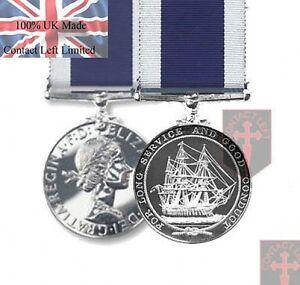 Official-LS-amp-GCM-Royal-Navy-Long-Service-amp-Good-Conduct-Miniature-Medal-Ribbon