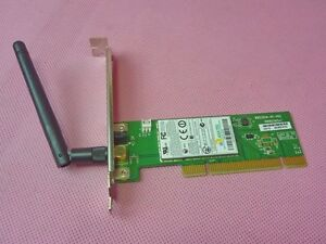 NEW DRIVER: WIRELESS LAN PCI 802.11 B G ADAPTER WN5301A