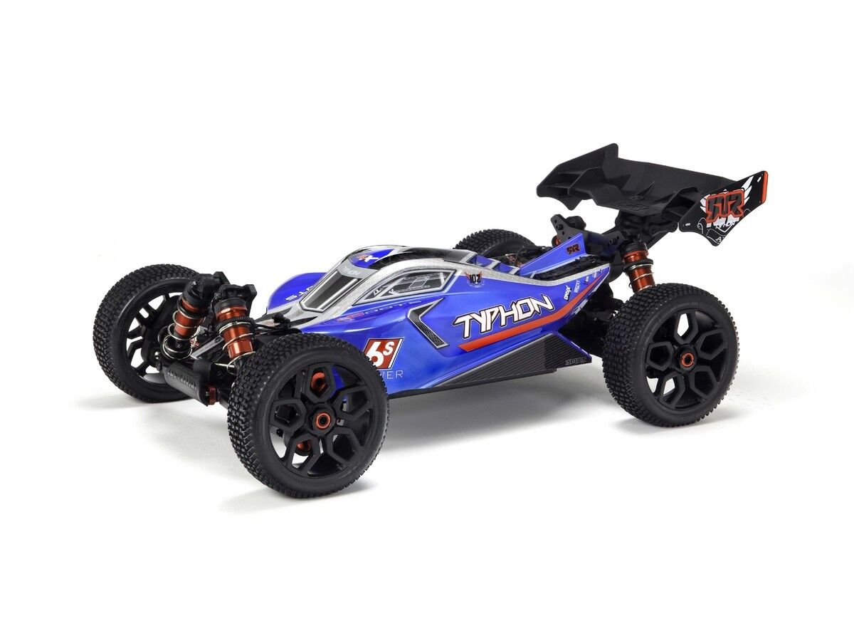 Arrma ARAC3323 Body bluee Painted W Decals for Typhon 6S BLX