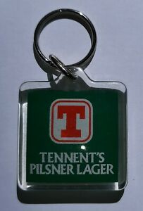 Vintage-Tennents-Lager-Key-Fob