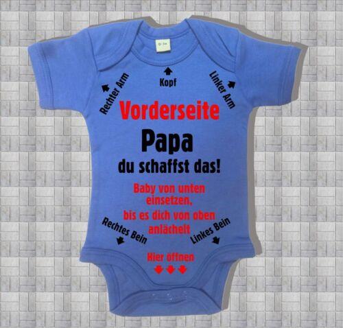Fuchsia Baby Body mit Anleitung 0-3 bis 12-18 Mon Cobalt Blue 100BW Schwarz