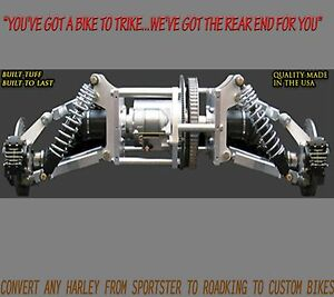Details about Independent Suspension Trike Conversion Kit for Harley  Davidson and Most Bikes