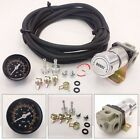 SILVER T2 UNIVERSAL ADJUSTABLE MANUAL TURBO BOOST CONTROLLER WITH GAUGE 1-30 PSI