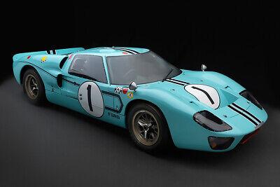 LE MANS FORD GT40 MARK IV RACE CAR POSTER PRINT 20x36 HI RES 9MIL PAPER
