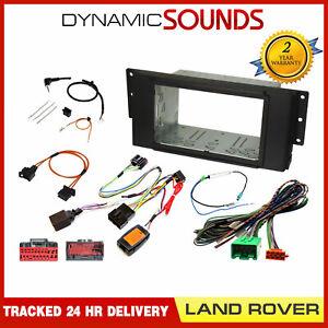 FK-853-3 Double Din Fascia Adaptor Kit Matt Black for Land Rover Discovery 04-09