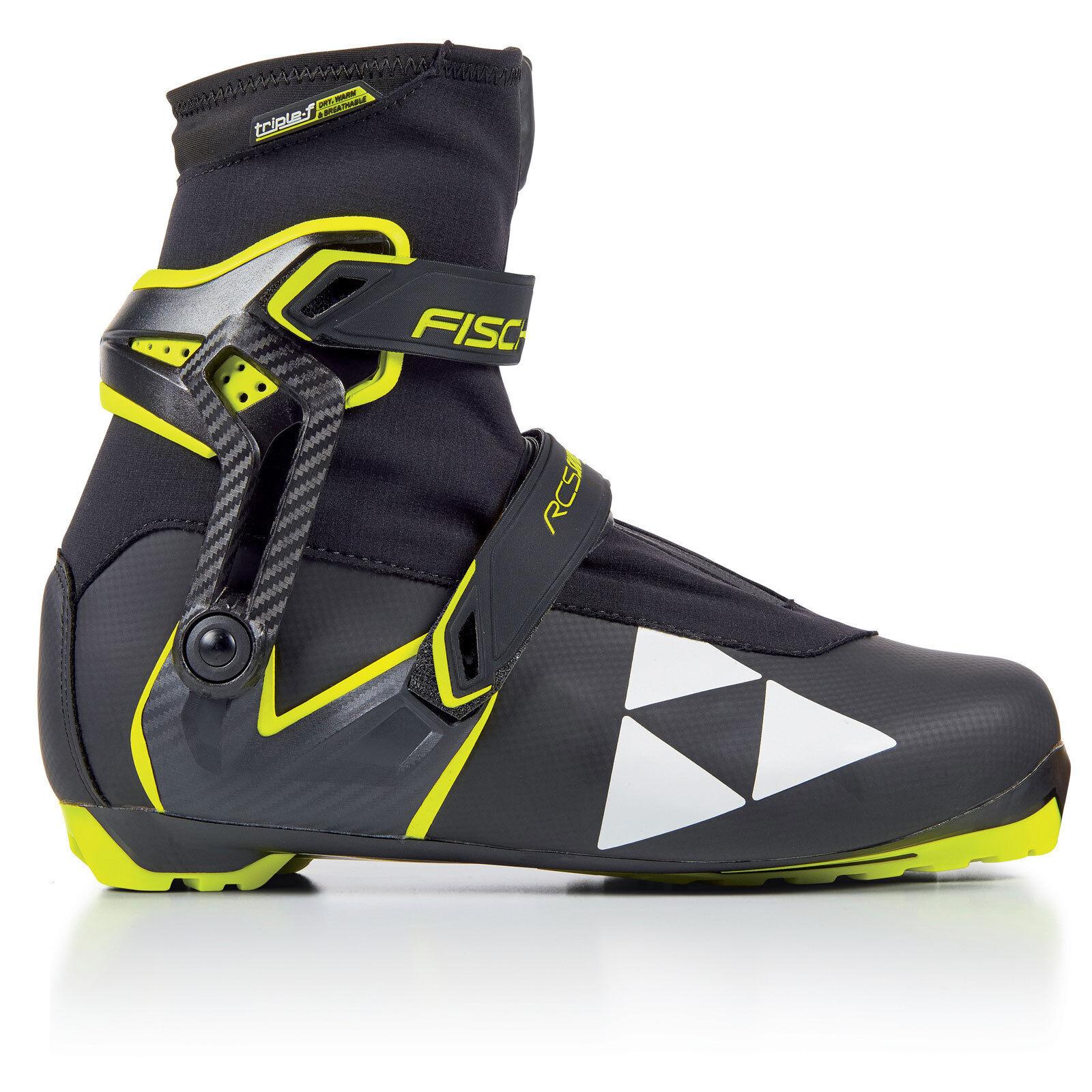 Fischer RCS Skate Damen | Herren Langlaufschuhe Langlaufschuhe Langlaufschuhe Langlauf Schuhe NNN Stiefel b71577