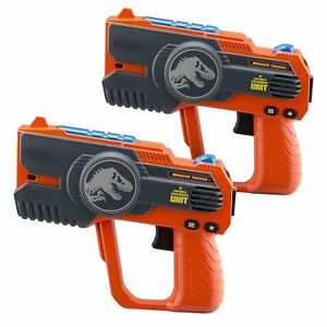 eKids Jurassic World 2 Laser Tag Blasters Lights Up & Vibrates When Hit