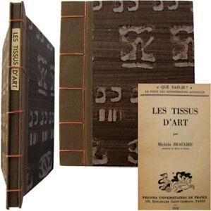 Les tissus d'art 1953 Michèle Beaulieu Que Sais-je 566 Reliure à la Japonaise vpJamQE2-07203420-527583463