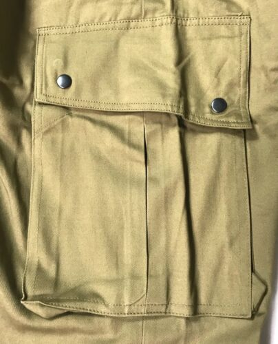 WWII US AIRBORNE PARATROOPER UNREINFORCED M42 JUMP TROUSERS XSMALL