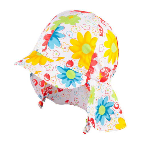 30 Sun Protection 100/% cotton Baby Girls Tie up Fancy Spring Summer UV