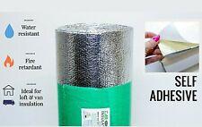 10m X 1m Sticky Back Bubble Foil Camper Van Aluminium Insulation Shed Loft Sheet For Sale Online Ebay