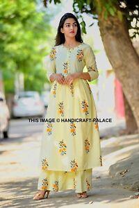 Indian Bollywood Fashion Design Dress Kurti With Plazo Wedding Trending Apparel Ebay